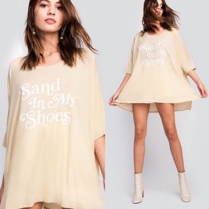 Wildfox Sand in my Shoes Crew Tee